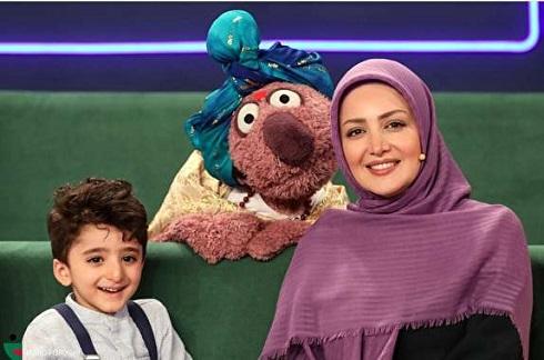 شیلا خداداد و پسرش در برنامه خندوانه 1