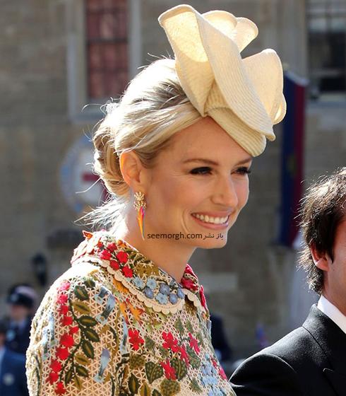 مدل کلاه سوفیا ولسلی Sofia Wellesley در عروسی مگان مارکل Meghan Markle و پرنس هرس Prince Harry