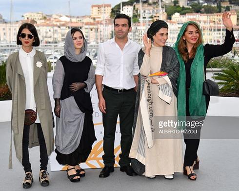 جشنواره کن 2018 Cannes، مدل لباس مستانه مهاجر، بهناز جعفری، مرضیه رضایی و سولماز پناهی