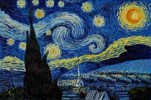 آسمان پرستاره اثر ونسان ون گوگ