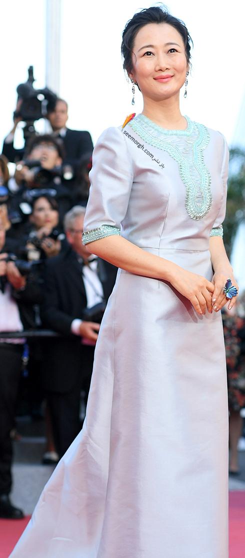 مدل لباس در روز چهارم جشنواره کن 2018 Cannes - زوآ تائو  Zhao Tao