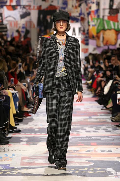 مدل کت و شلوار زنانه 2018 برند دیور Dior برای بهار - مدل شماره 4