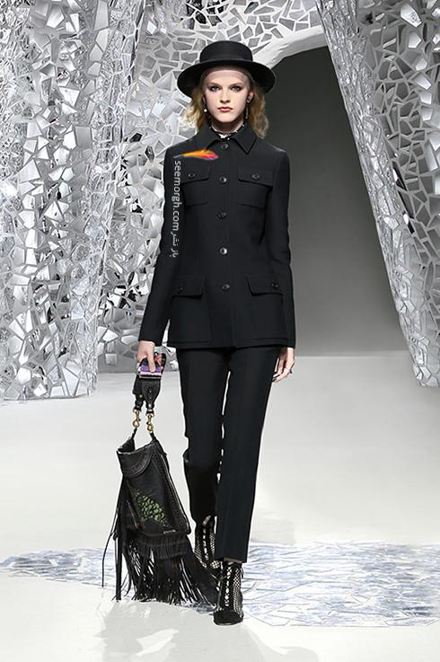 مدل کت و شلوار زنانه 2018 برند دیور Dior برای بهار - مدل شماره 2