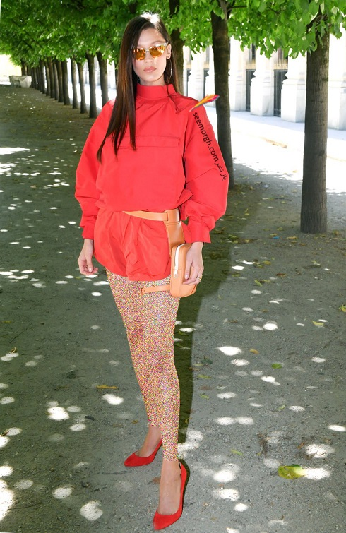 مدل لباس,جدیدترین مدل لباس,کدل لباس 2019,لویی ویتون,بلا حدید,تابستان