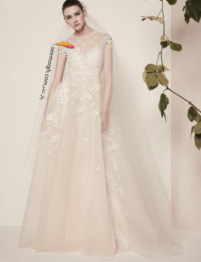 لباس عروس 2018 از برند الی ساب لباس Elie Saab برای بهار و تابستان - مدل شماره 1