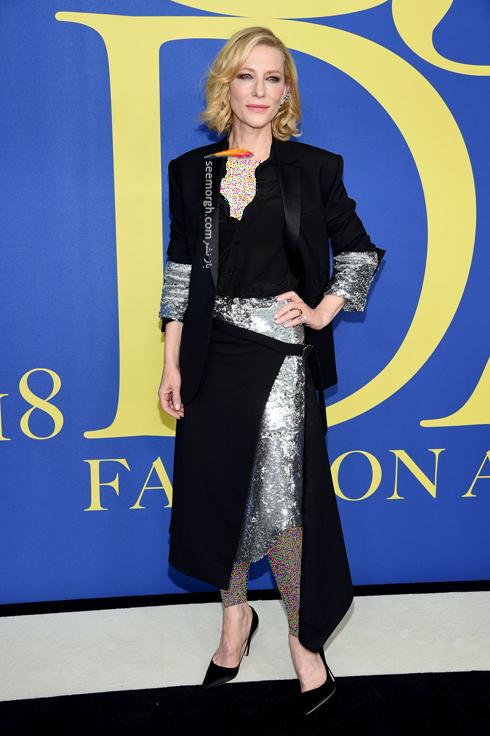 مدل لباس کیت بلانشت Cate Blanchett در CFDA Awards 2018
