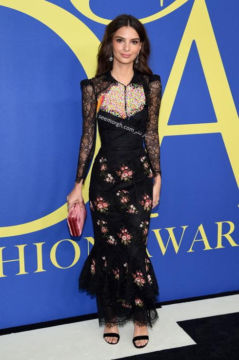 مدل لباس امیلی راتاجکوسکی Emily Ratajkowski در CFDA Awards 2018