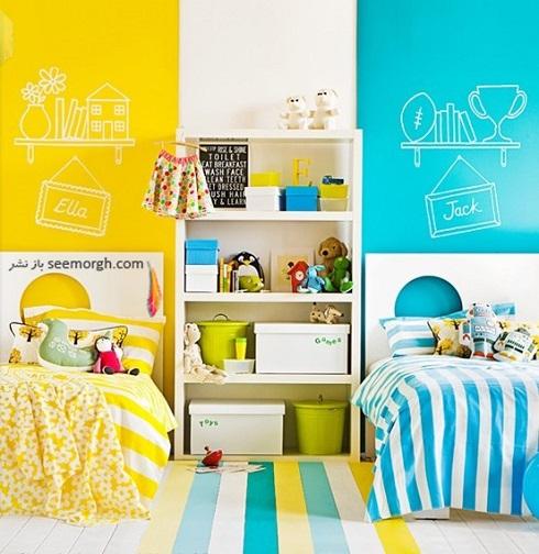 دکوراسیون اتاق کودک,دکوراسیون اتاق خواب,دکوراسیون داخلی، ترکیب رنگ، دکوراسیون داخلی منزل