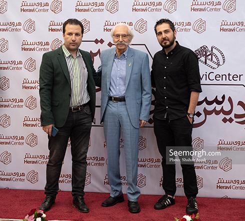 محمدرضا غفاری در مراسم بزرگداشت جمشید مشایخی