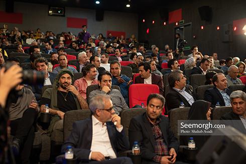 حضور جمعی از هنرمندان در مراسم بزرگداشت جمشید مشایخی