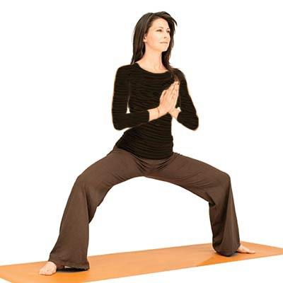 تقویت زانو با چند ورزش ساده و موثر,حرکت معبد