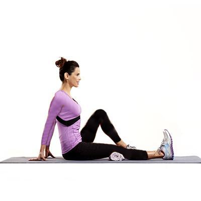 تقویت زانو با چند ورزش ساده و موثرحرکت عضله چهار سر ران