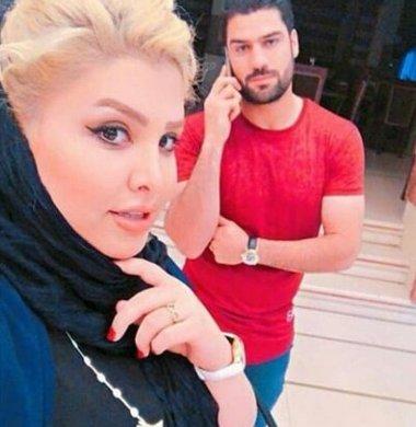 فرشاد محمدي مهر و همسرش