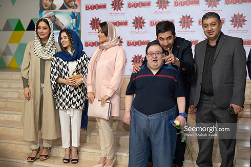 اکران خصوصی دشمن زن در پردیس باغ کتاب تهران