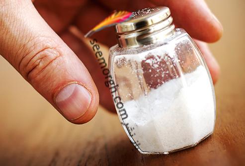 بهترین و بدترین غذاها برای کبد نمک
