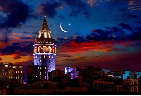 برج گالاتا,برج معروف استانبولع مکان های دیدنی استانبول