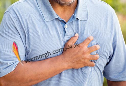 فشار خون,حمله قلبی,درد قفسه سینه
