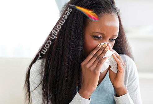 سرماخورده,زن سرماخورده,سرماخوردگی