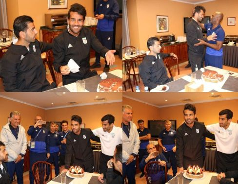 جشن تولد مسعود شجاعي