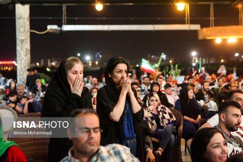 استرس تماشاگران بازي ايران و پرتغال