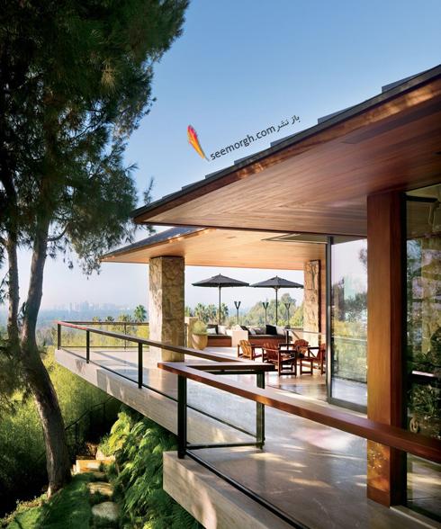 دکوراسیون داخلی خانه جنیفر آنیستون Jennifer Aniston در بورلی هیلز - عکس شماره 1