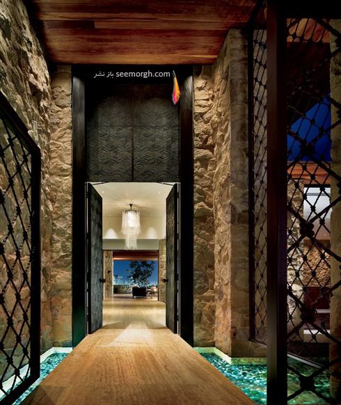 دکوراسیون داخلی خانه جنیفر آنیستون Jennifer Aniston در بورلی هیلز - عکس شماره 9