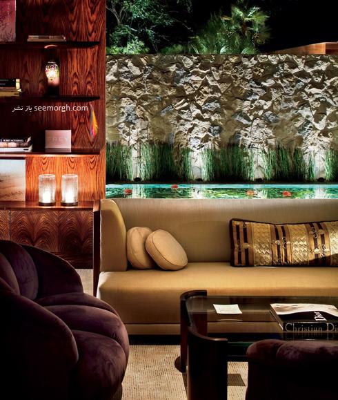 دکوراسیون داخلی خانه جنیفر آنیستون Jennifer Aniston در بورلی هیلز - عکس شماره 8