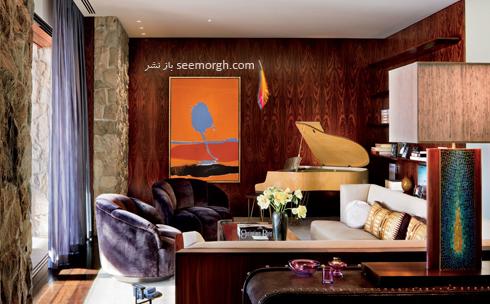 دکوراسیون داخلی خانه جنیفر آنیستون Jennifer Aniston در بورلی هیلز - عکس شماره 7