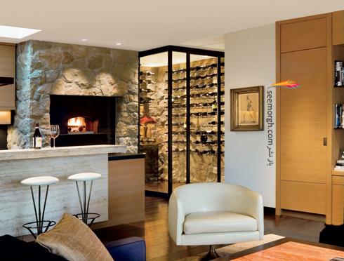 دکوراسیون داخلی خانه جنیفر آنیستون Jennifer Aniston در بورلی هیلز - عکس شماره 5