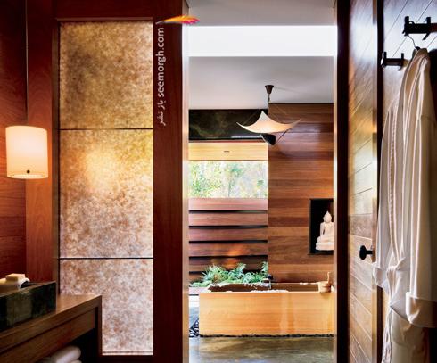 دکوراسیون داخلی خانه جنیفر آنیستون Jennifer Aniston در بورلی هیلز - عکس شماره 4