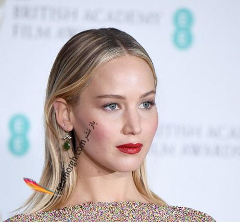 مدل مو جنيفر لارنس Jennifer Lawrence در سال 2018- مدل شماره 21