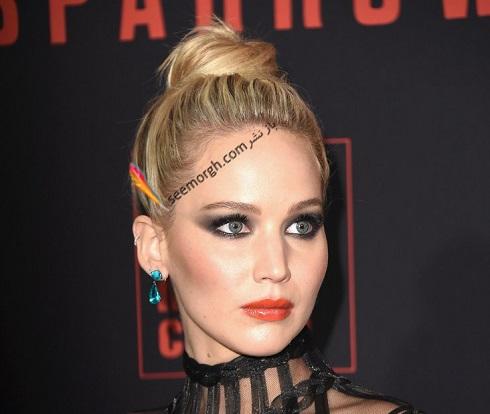 مدل مو جنيفر لارنس Jennifer Lawrence در سال 2018 - مدل شماره 23