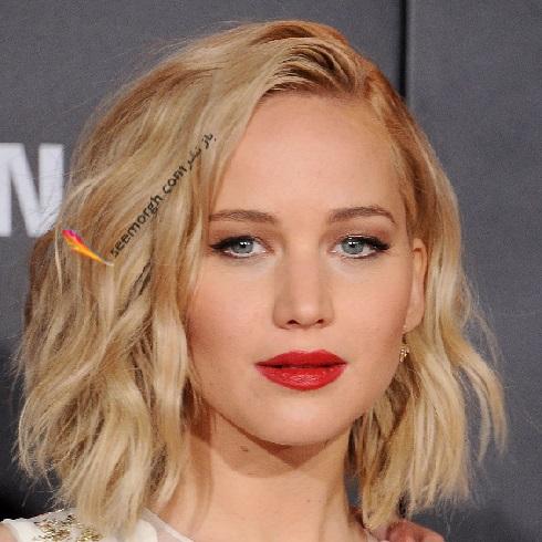 مدل مو جنيفر لارنس Jennifer Lawrence در سال 2015 - مدل شماره 7