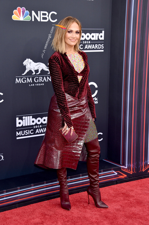 مدل لباس جنیفر لوپز Jennifer Lopez در مراسم جوایز بیلبورد 2018 Billboard Music Awards