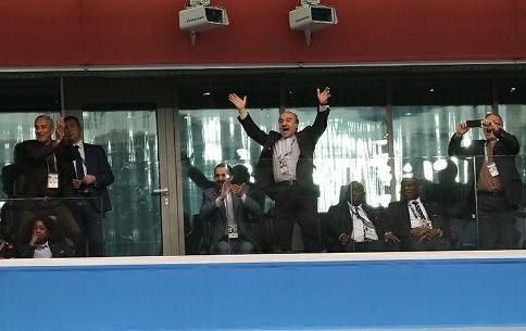 شادی مسعود سلطانی فر وزیر ورزش