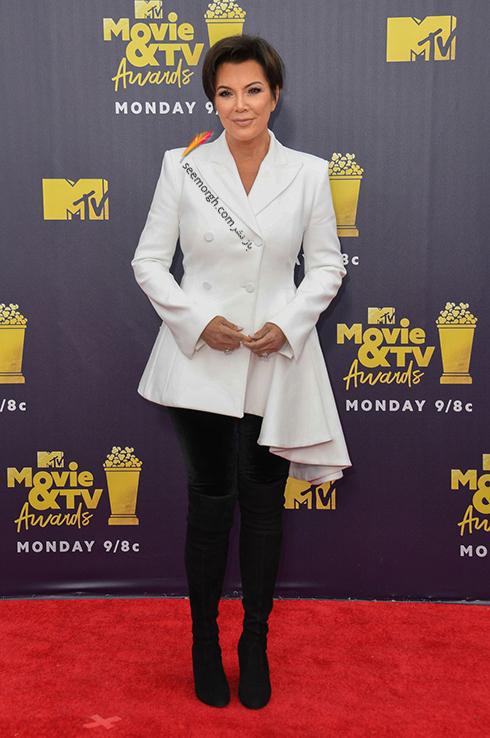 مدل لباس در MTV Awards 2018 - کریس جنر Kris Jenner
