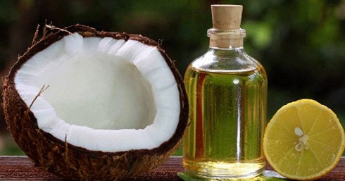 روشن کردن مو با ترکیب آب لیمو و روغن نارگیل