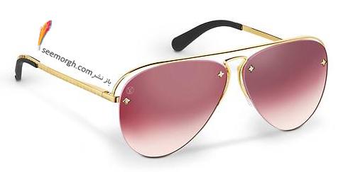 عینک آفتابی,جدیدترین مدل عینک آفتابی,عینک آفتابی زنانه,جدیدترین مدل عینک آفتابی زنانه,بهترین مدل عینک آفتابی زنانه 2018 لویی ویتون Louis Vuitton