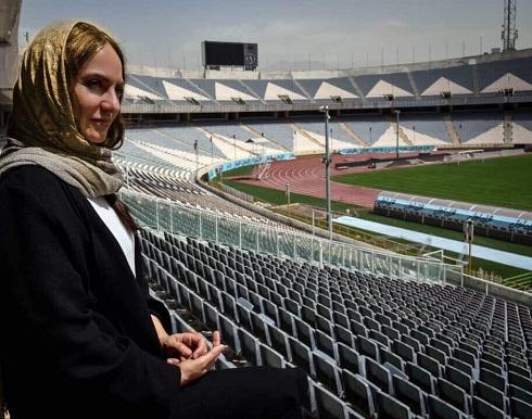عکس مهناز افشار, توئیتر مهناز افشار, مهناز افشار در استادیوم آزادی