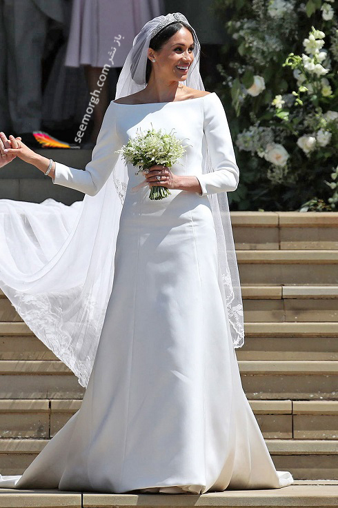 مگان مارکل,مدل لباس عروس,لباس عروس,لباس عروس رز لزلی