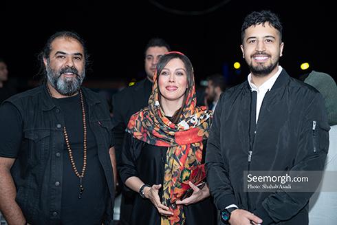 مهرداد صدیقیان, مهتاب کرامتی و برزو نیک نژاد در اکران خصوصی فیلم ناخواسته