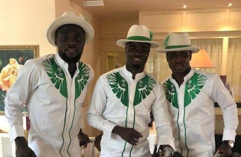 لباس بازیکنان تیم ملی نیجریه