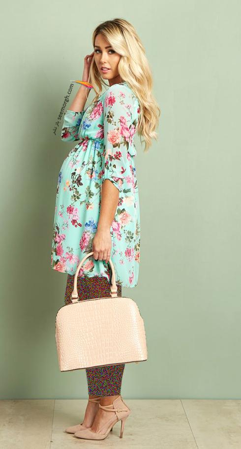 لباس بارداری گلدار