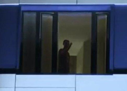 اشاره رونالدو برای ترک کردن اطراف هتل