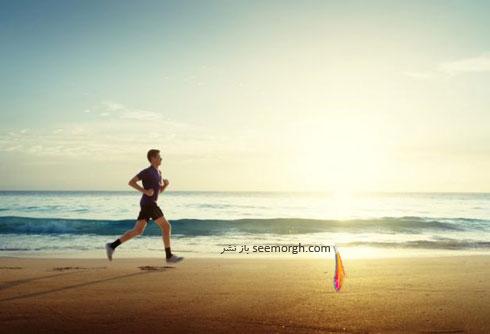 ساحل,دویدن,دویدن در کنار ساحل