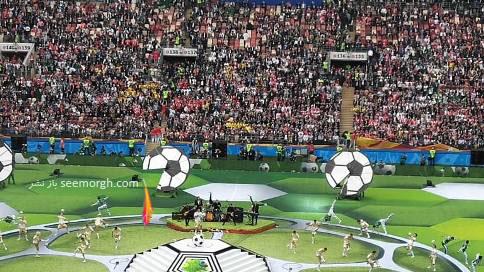 عکس مراسم افتتاحیه جام جهانی 2018