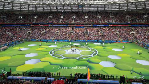 مراسم افتتاحیه جام جهانی 2018
