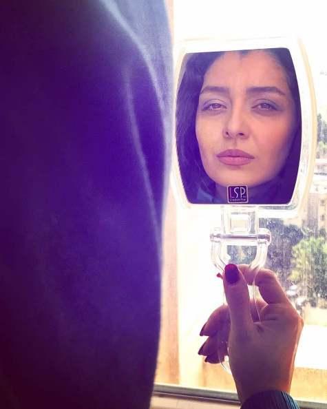 عکس منتشر شده توسط ساره بیات