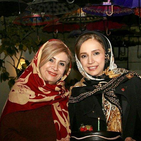 شبنم قلی خانی و خواهرش شیدا