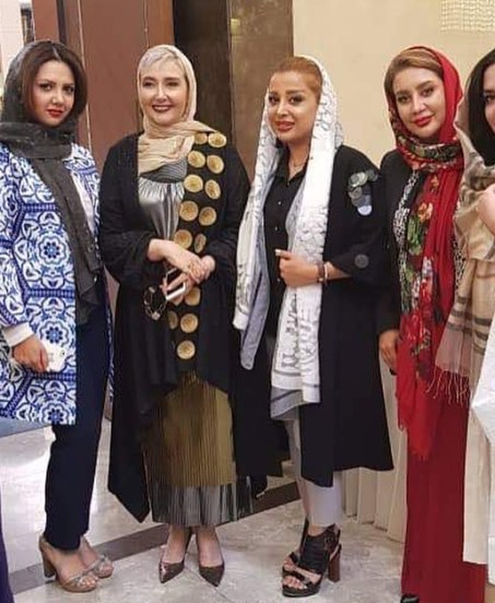 کتایون ریاحی در افتتاحیه سالن زیبایی